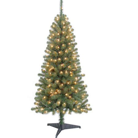 walmart decorative pine trees time 5ft harrison pine artificial tree clr walmart