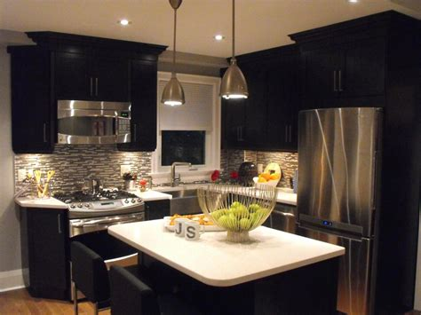 black kitchen ideas photos hgtv