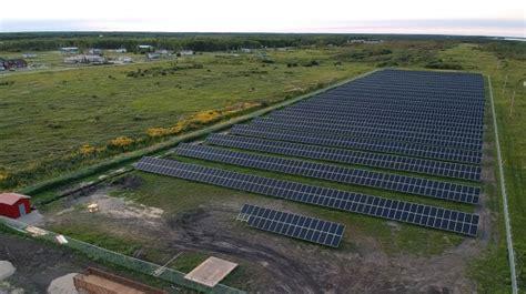 nation solar farm generating power  making