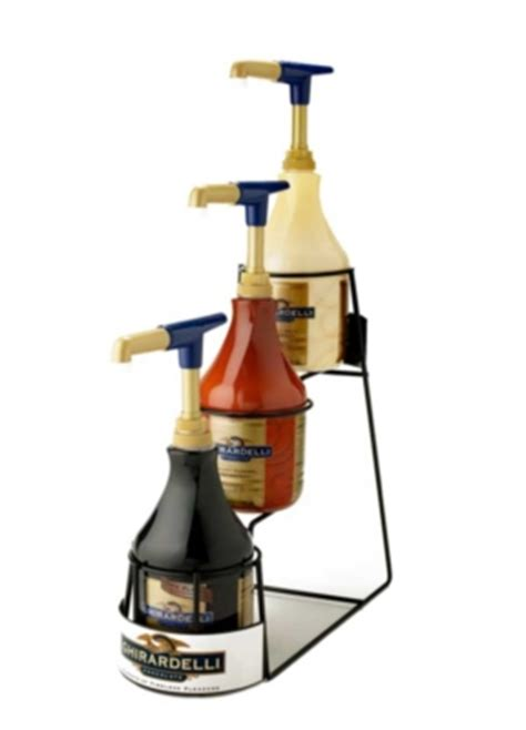 Sauce For Rack by Ghirardelli Promo Supplies Sauce Racks