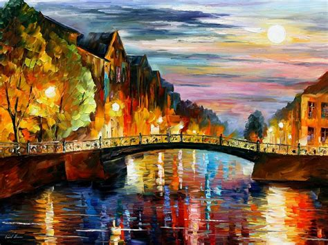 the russian canvas painting leonid afremov oil on canvas palette knife buy original paintings art famous artist