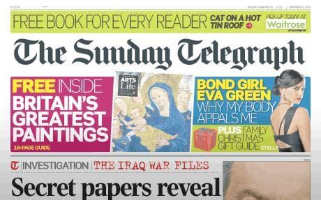 The Sunday Telegraph by Opinions On The Sunday Telegraph