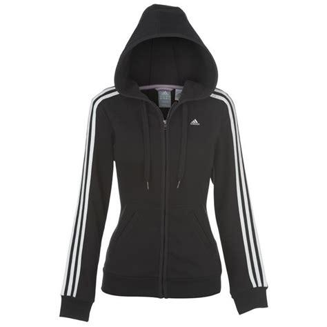 Jaket Sweater Hoodie Zipper Logo Justivce Le adidas womens essentials 3 stripe zip hoody