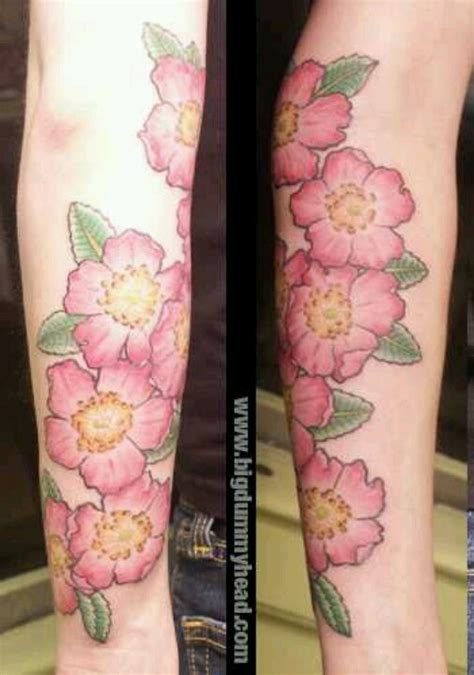 wild rose tattoos prairie tattoos