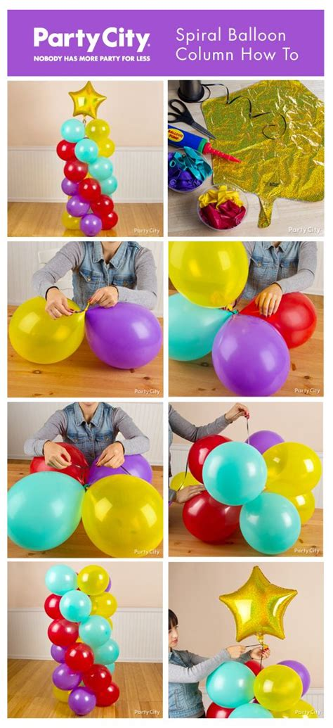 Balloon Decorating Instructions » Home Design 2017
