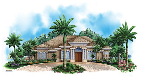 Florida Home Plans by Florida Mediterranean House Plans Home Designs