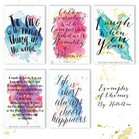 Printable Custom Quotes | quotes custom quote print quote prints love quote by helloam