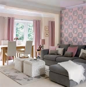 Pink Living Room Ideas Of Decor Pink Grey And White Color Scheme