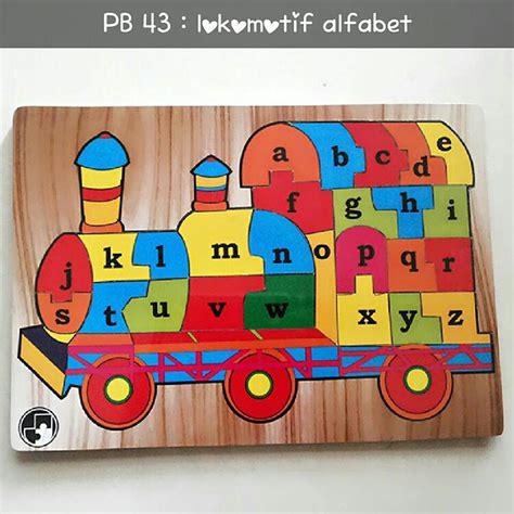Puzzle Kayu Badak Hijaiyah o store