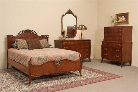 Bedroom Furniture Vintage Style 1940 S Vintage Joerns 4 Pc Size Bedroom Set