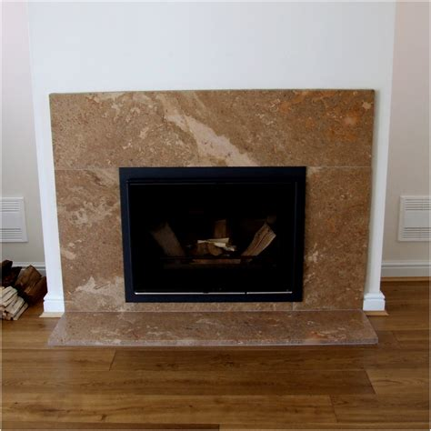why not to set the bar for the fireplace hearth now