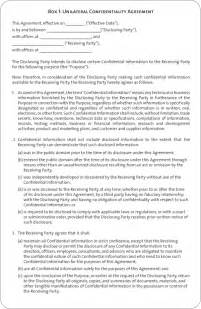 confidentiality agreement template non compete agreement