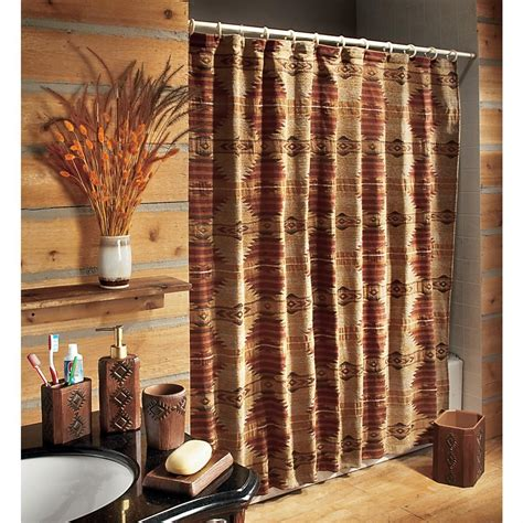 southwest shower curtain lincoln southwest shower curtain 126258 bath at