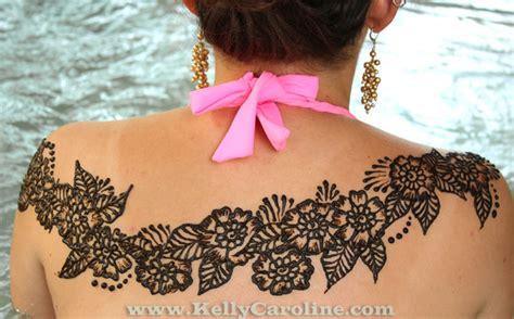 henna design on back henna back design kelly caroline