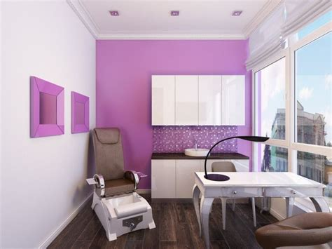 LOVE THIS SMALL SPACE! Home nail salon decorating ideas