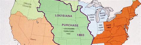 map of the united states louisiana purchase louisiana purchase facts summary history