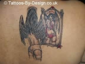 tattoo angel vs devil angel vs she devil tattoo