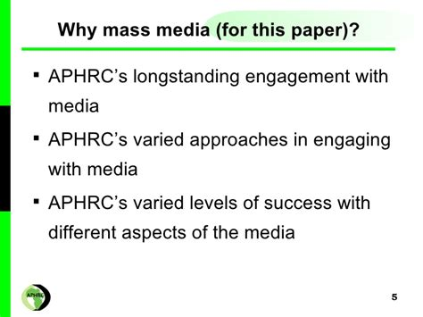 mass media research paper mass media research paper