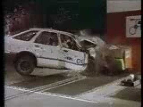 accident recorder 1997 ford escort navigation system ford sierra euroncap part 3 youtube
