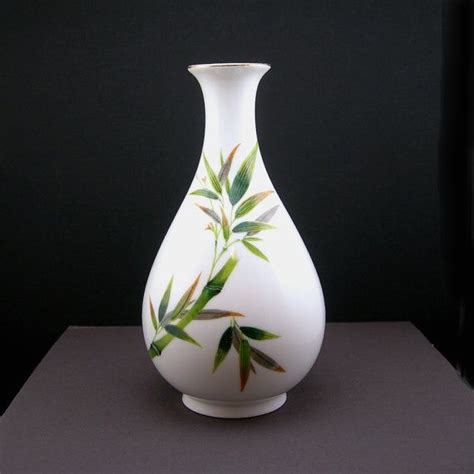 Noritake Vase Value by Noritake Bamboo Vase Bone China Nippon Toki Kaisha 7