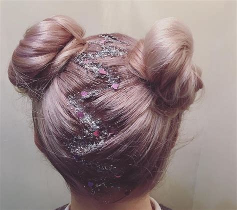hairstyles like space buns space buns hair space buns get the ultimate party perfect