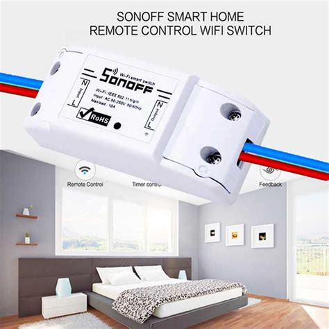 sonoff smart home remote wifi switch smart home