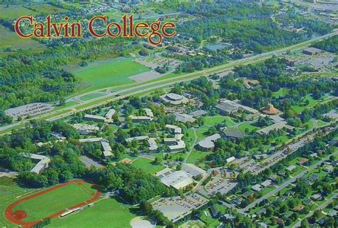 Search Calvin College Aerial View Of Calvin College Grand Rapids Michigan