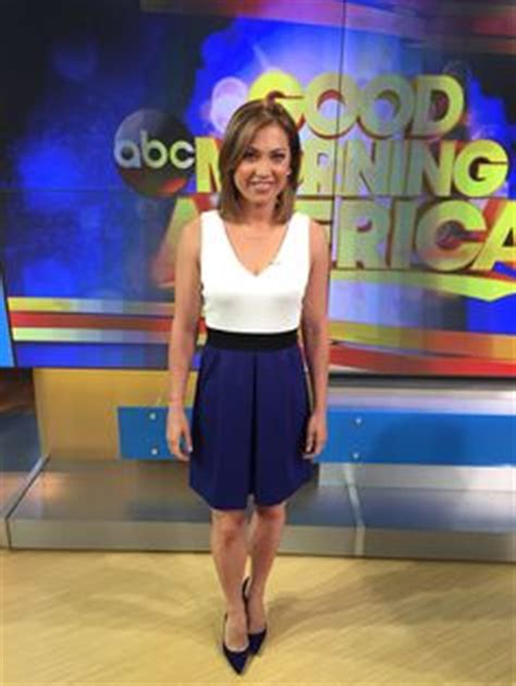 ginger zee new bob ginger zee of good morning america heads north to work a