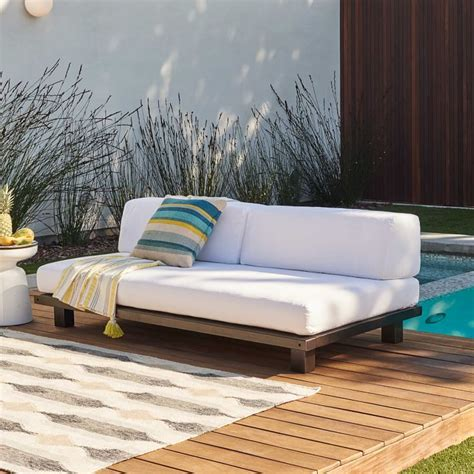 tillary outdoor sofa a shabby patio becomes an outdoor living room front main