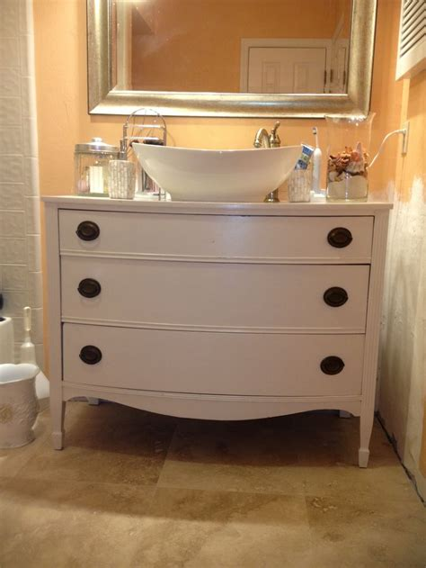 diy bathroom vanity from dresser diy furniture bathroom diy tales diy bathroom vanity by