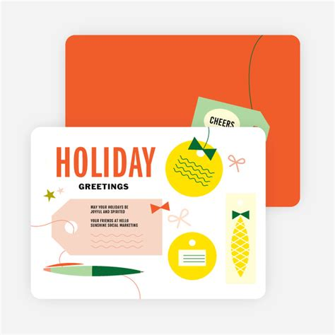 Funny Gift Cards To Buy - retro fun gift tag holiday cards paper culture