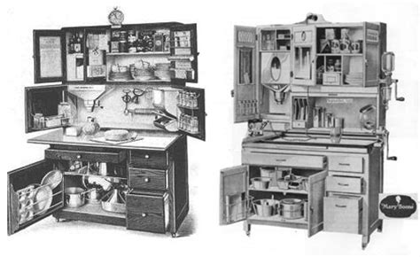 antique kitchen cabinet early 1900s kaufmann manufacturing widely used kitchen workstation design from the early