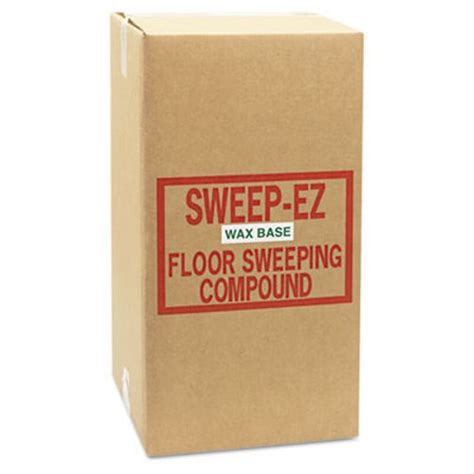 sorb all wax based sweeping compound powder 50lbs sor50wax