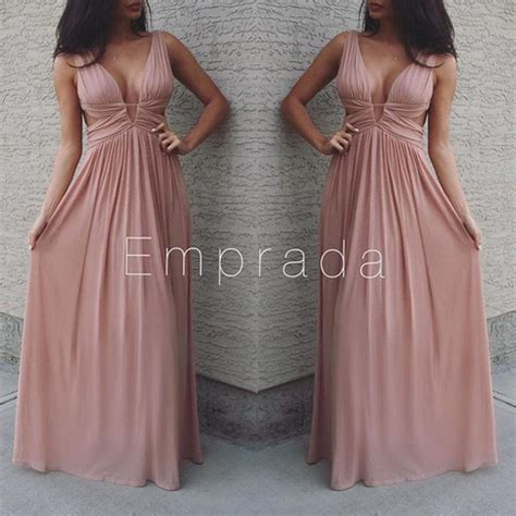 Maxi Manila L Dusty Pink dress maxi dress prom dress prom dress dress