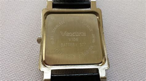 Starting Vextra vextra v106 quartz wristwatch 6 months never worn catawiki