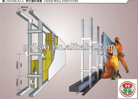 galvanized steel metal profile drywall profile suspended