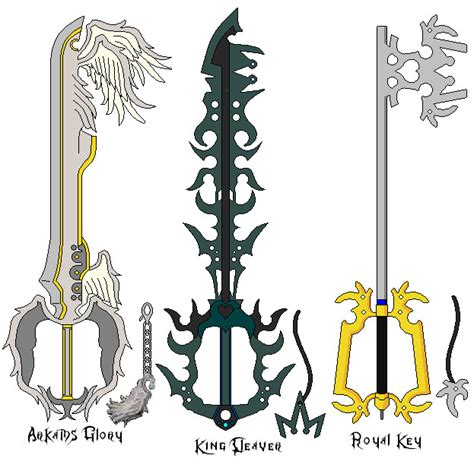 keyblade 31 by suburbbum on deviantart
