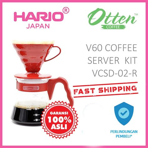 jual hario  coffee server set vcsd   red  lapak otten coffee ottencoffee