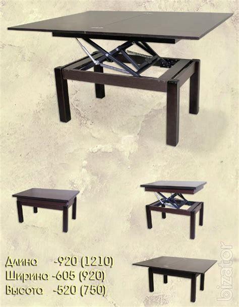 high tech coffee table coffee table transformer high tech 3 buy on bizator com