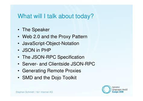 javascript proxy pattern json rpc proxy generation with php 5