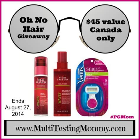 Hair Giveaway 2014 - contest win a p g summer hair survival kit your contests canada