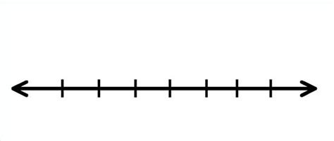 free printable number line without numbers number line clip art clipart best