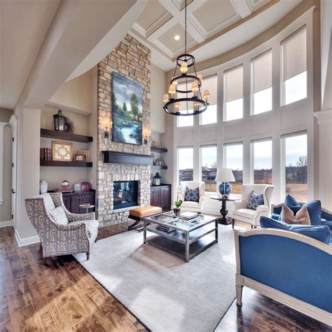 unique decorating ideas  great rooms  high ceilings