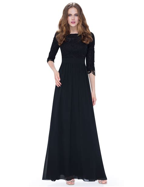 Lace Dress Dress Dress Cny Dress womens 3 4 sleeves lace bridesmaid dresses evening prom gown 08412 pretty ebay
