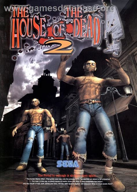 house of the dead game house of the dead 2 arcade games database