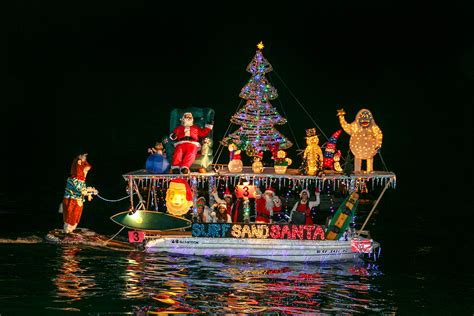 monterey parade of lights boats boat parade of lights shines bright for the holidays