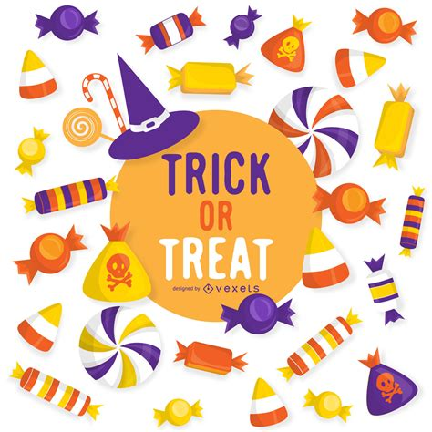 Trick Or Treat by Trick Or Treat Design Vector
