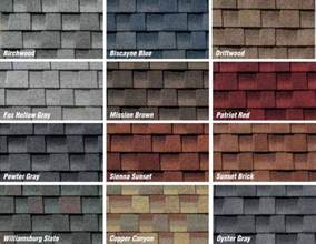 roofing shingles colors architectural roofing shingles architectural roofing