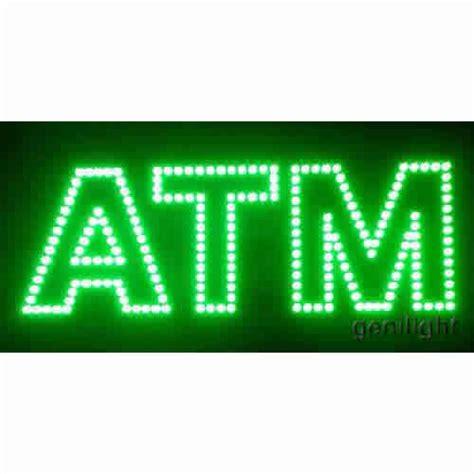 Sign Led Atm led sign led atm sign genilight optoelectronic technology co ltd led sign open sign