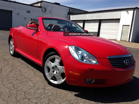 lexus convertible 4 door 2004 lexus sc430 convertible 2 door 4 3l 100 fully